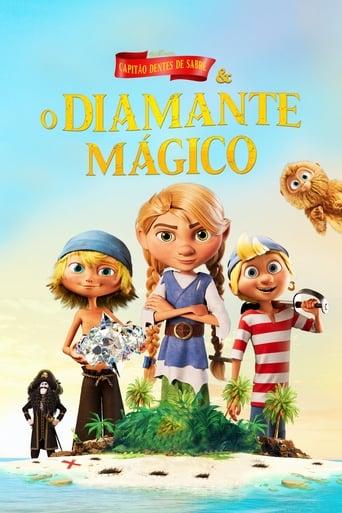 Capitão Dentes de Sabre e o Diamante Mágico - Poster