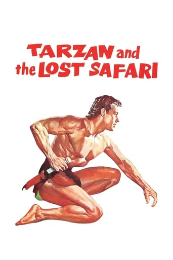 Poster of Tarzan and the Lost Safari
