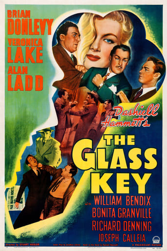 Poster of The Glass Key