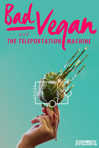 Poster of Bad Vegan and the Teleportation Machine