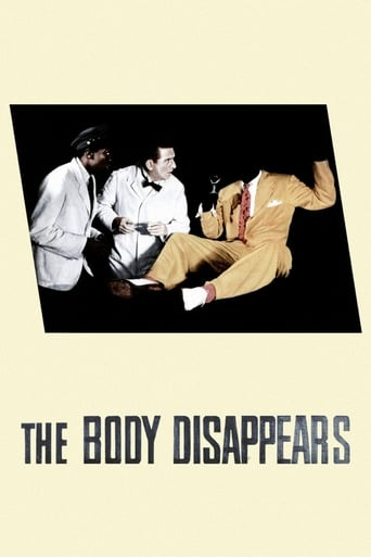 Poster of The Body Disappears