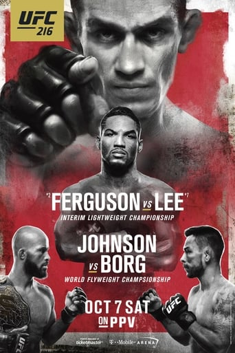 Poster of UFC 216: Ferguson vs. Lee