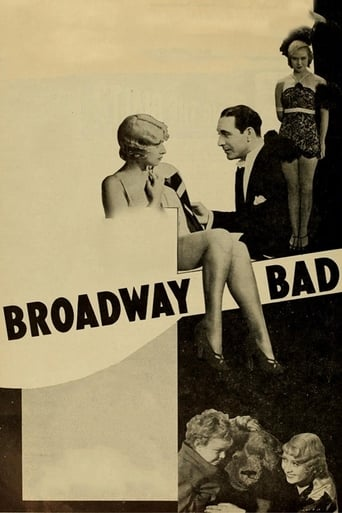 Poster of Broadway Bad