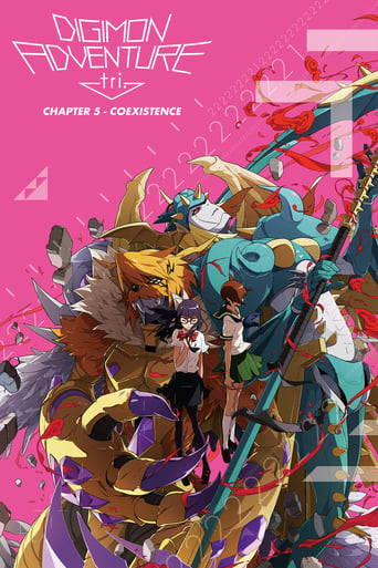 Poster of Digimon Adventure Tri. - Chapter 5: Coexistence