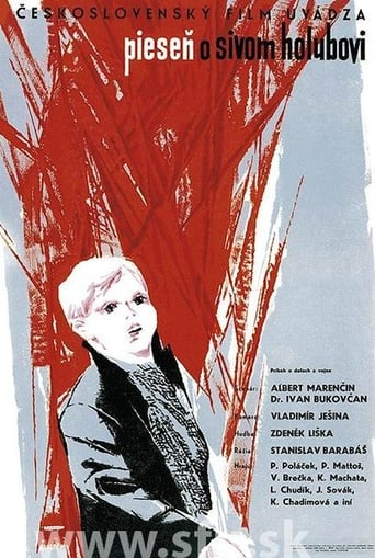 Poster of Piesen o sivom holubovi