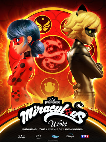 poster of Miraculous World: Shanghai – The Legend of Ladydragon