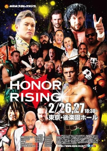 Poster of ROH-NJPW Honor Rising Japan 2017 - Night 2