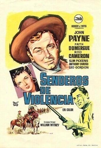 Poster of Senderos de violencia
