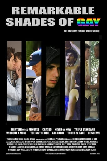 Poster of Remarkable Shades of Gay