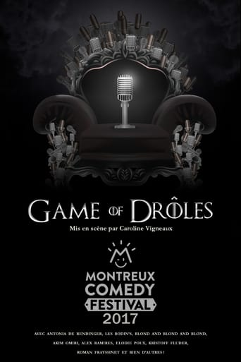 Poster of Montreux Comedy Festival 2017 - Game of Drôles