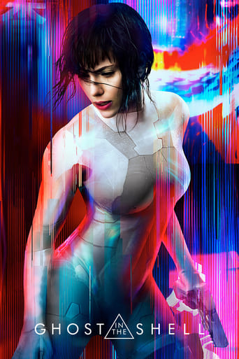 Official movie poster for Ghost in the Shell (2017)