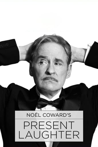 Poster of Noël Coward's Present Laughter