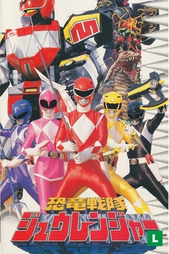 poster of Kyōryū Sentai Zyuranger