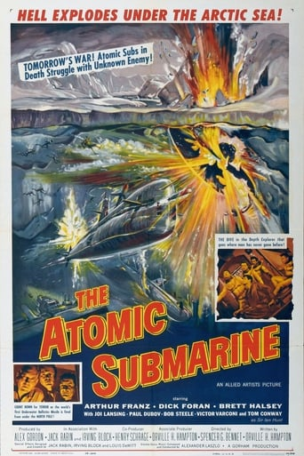 Poster of The Atomic Submarine