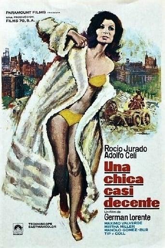 Poster of Una chica casi decente