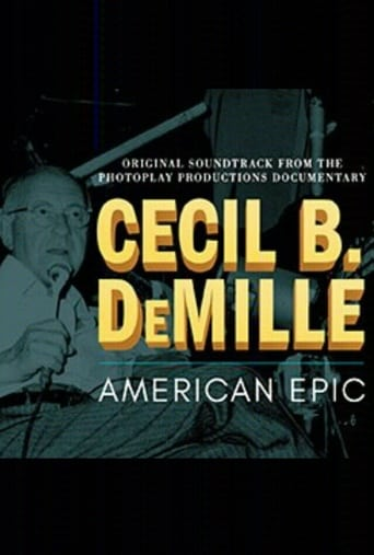 Poster of Cecil B DeMille: American Epic