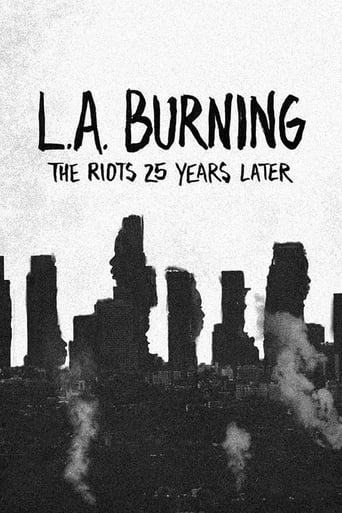 Poster of L.A. Burning: The Riots 25 Years Later