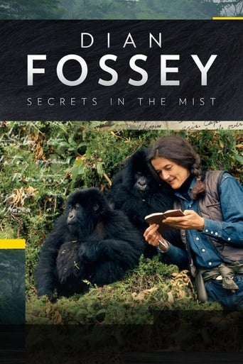 Poster of Dian Fossey: Secrets in the Mist