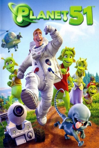 Official movie poster for Planet 51 (2009)