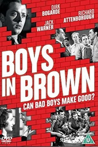 Poster of Boys in Brown
