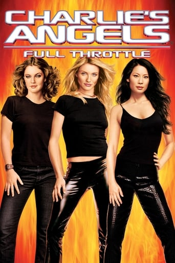 Official movie poster for Charlie's Angels: Full Throttle (2003)