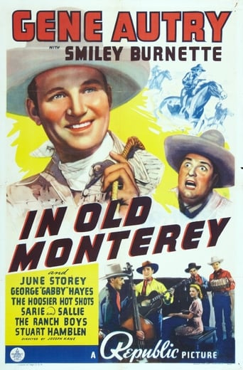 Poster of In Old Monterey