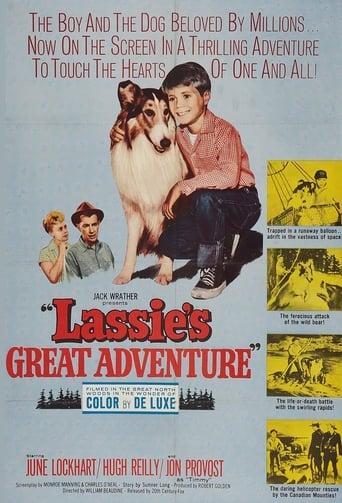 Poster of Lassie's Great Adventure