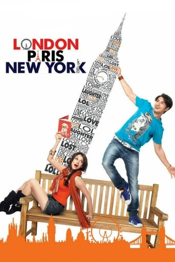 Poster of London, Paris, New York