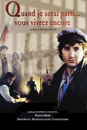 Poster of Quand je serai parti... vous vivrez encore