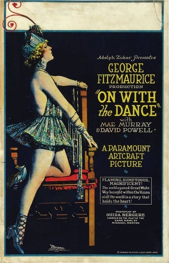 Poster of On with the Dance