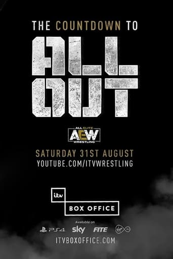 Poster of All Elite Wrestling: The Countdown To All Out