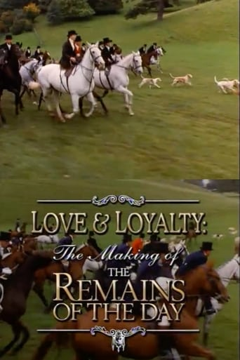 Poster of Love & Loyalty: The Making of 'The Remains of the Day'