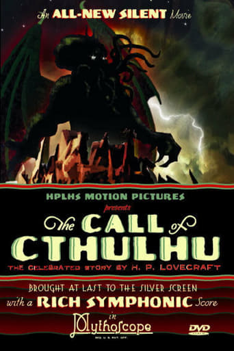 Poster of The Call of Cthulhu