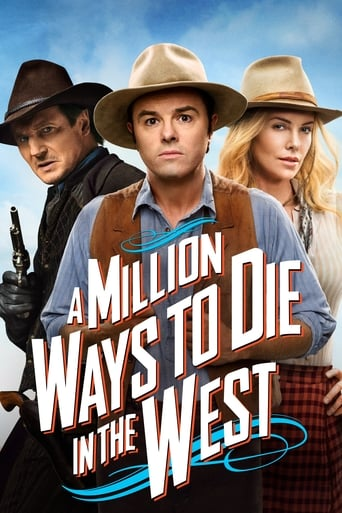 Poster of A Million Ways to Die in the West