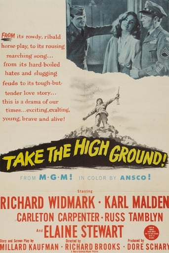 Poster of Take the High Ground!