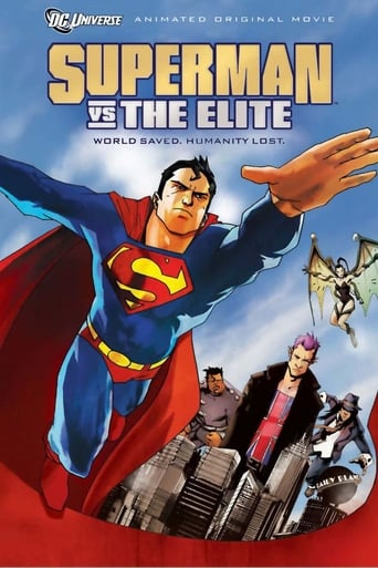 Poster of Superman vs. The Elite