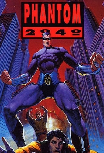Poster of Phantom 2040: The Ghost Who Walks