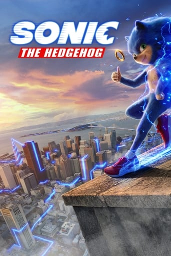 The Sonic the Hedgehog (2019) movie poster image