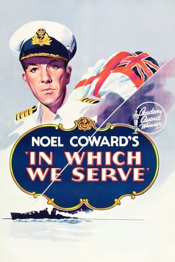 Official movie poster for In Which We Serve (1942)