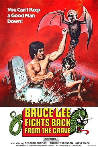 Poster of Bruce Lee Fights Back from the Grave