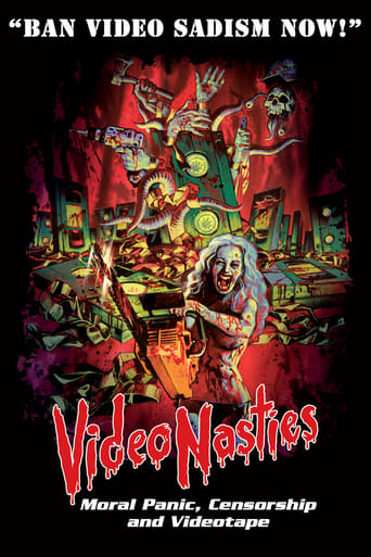 Poster of Video Nasties: Moral Panic, Censorship & Videotape