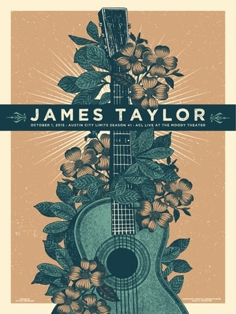 Poster of James  Taylor - Austin City Limits Festival