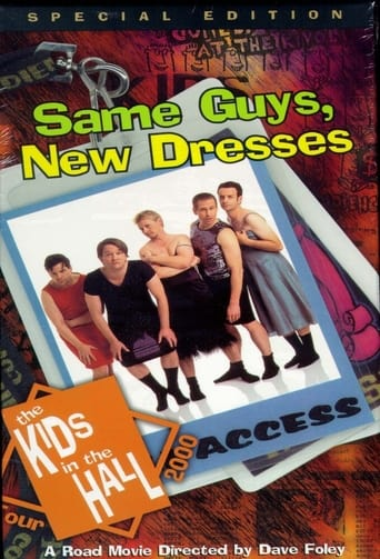 Poster of Kids in the Hall: Same Guys, New Dresses