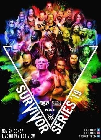 Poster of WWE Survivor Series 2019