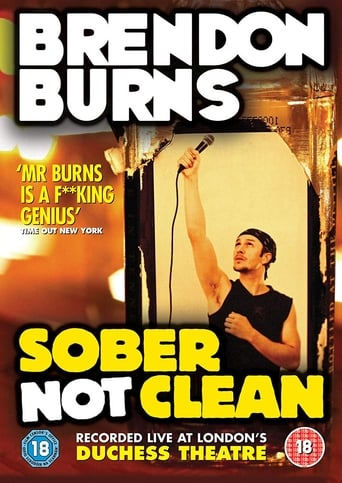 Poster of Brendon Burns: Sober Not Clean