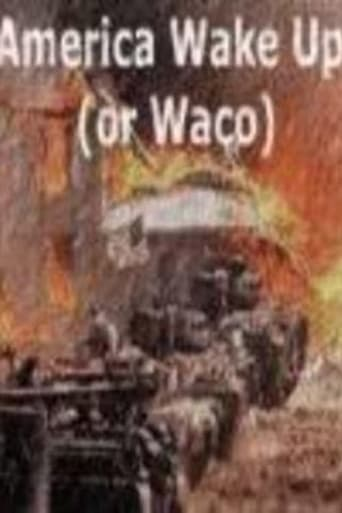 Poster of America: Wake Up (Or Waco)