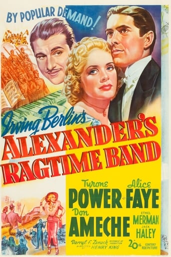 Poster of Alexander's Ragtime Band