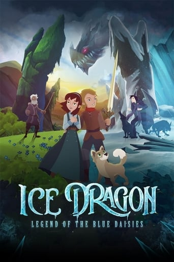 Ice Dragon: Legend of the Blue Daisies Movie Poster