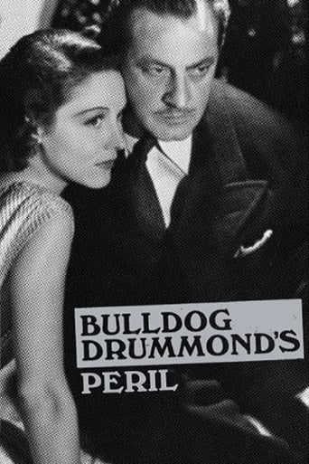 Poster of Bulldog Drummond's Peril