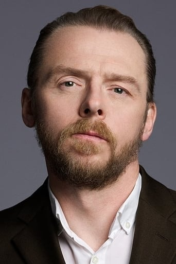 Simon Pegg alias Kieron the Cat (voice)